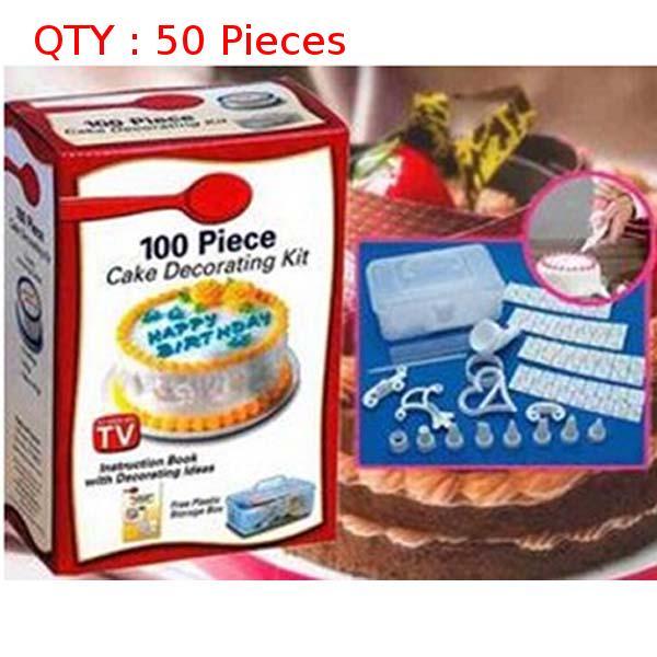 50x brand new 100 piece diy cupcake cake decoration baking for 100 piece cake decoration kit